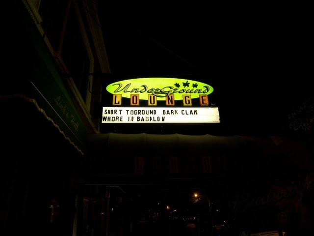 Live @ the Underground Lounge